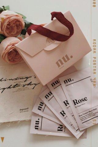 NU. beauty So Sugar Rosy Sheet Mask (5 pcs/Box)