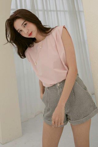 Lulu Non-padded Top in Blush