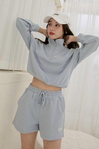 'M Club Pullover Set in Blue