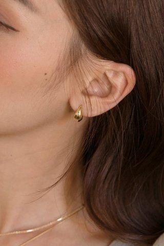 Tear Drop Hoop Earrings