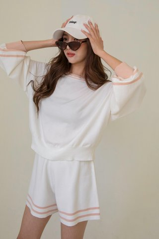 Kalle Knitted Top in Cream